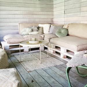 A seating area at Vacation Home Letha