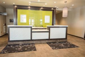 The lobby or reception area at Hilton Garden Inn Indiana at IUP