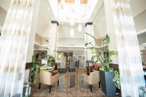 A restaurant or other place to eat at Hilton Garden Inn Indiana at IUP