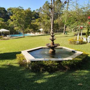 A garden outside Park Hotel Mantiqueira