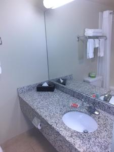 A bathroom at Econo Lodge
