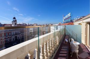 A balcony or terrace at Hotel Europa