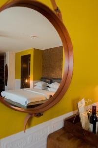 Een badkamer bij Hotel V Nesplein