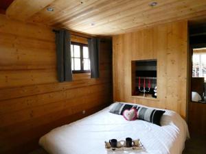 Un ou plusieurs lits dans un hébergement de l'établissement Auberge Du Fraizier