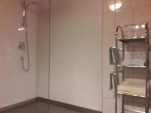 Ein Badezimmer in der Unterkunft Apart Greber