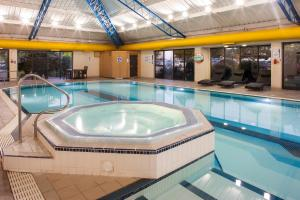 The swimming pool at or near Holiday Inn Rochester-Chatham