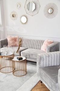 Posezení v ubytování Exclusive Art Deco Boutique