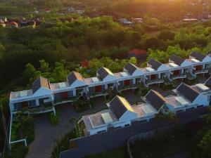 A bird's-eye view of Hideaway Residence Bali