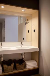 A bathroom at Toc Hostel Sevilla