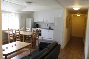 Ett kök eller pentry på Leksands Folkhögskola