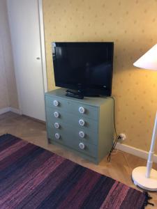 En tv och/eller ett underhållningssystem på Villa Verdi