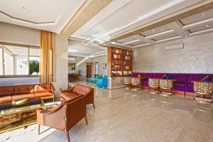 Hall ou réception de l'établissement Mountains Palace Marrakech