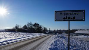 Villa Wolte Bed and Breakfast om vinteren