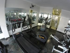 The fitness center and/or fitness facilities at Havana Palace Hotel II
