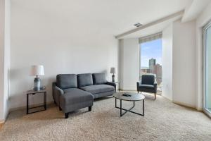 A seating area at Luxury Denver 30 Day Rentals