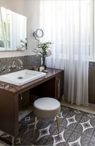 A bathroom at The Norman Tel Aviv