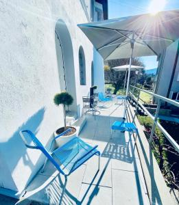 A balcony or terrace at Bed and Breakfast Olten