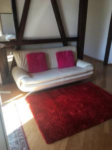 Ein Sitzbereich in der Unterkunft Apartment Perim