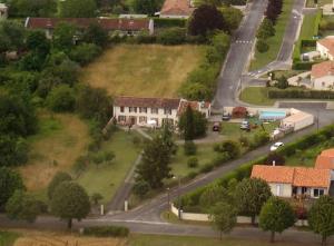 Vue panoramique sur l'établissement Au Bellefleur