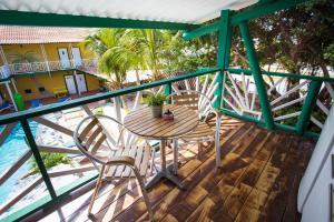 Uma varanda ou terraço em Rancho el Sobrino