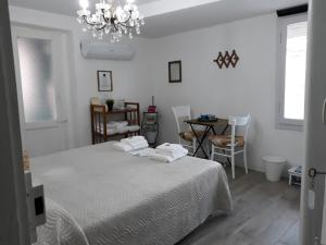 A bed or beds in a room at Come una volta