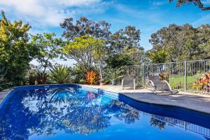 The swimming pool at or near Yarrandabbi Dreaming Boutique B&B