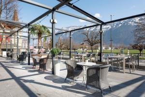 A restaurant or other place to eat at Hapimag Ferienwohnungen Interlaken