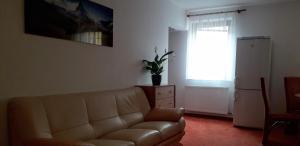 Posezení v ubytování Apartmán McVitek