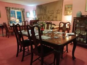 A restaurant or other place to eat at Court Barn Country House Hotel