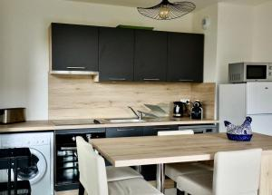 A kitchen or kitchenette at Appartement des Arts