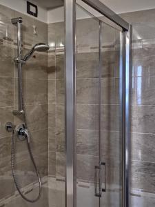 A bathroom at Hotel Internazionale