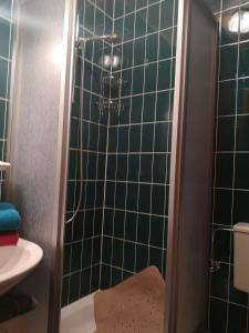 A bathroom at Haus Franziska