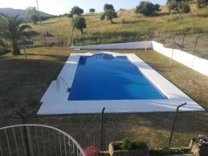 Vista de la piscina de El Almendral o alrededores