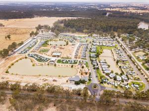 A bird's-eye view of Moama Waters