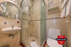 Ванная комната в Antares by Center Hotels
