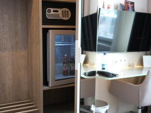 A bathroom at Hotel Bonn City