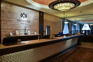 O saguão ou recepção de Shahdag Hotel & Spa