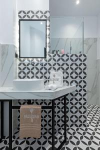 A bathroom at Belle Epoque Suites