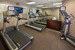 The fitness center and/or fitness facilities at Residence Inn Baton Rouge Siegen