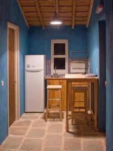 A kitchen or kitchenette at Toumba Eco Farm Guesthouses