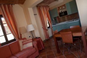 Area soggiorno di Villa San Filippo