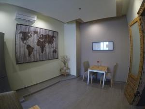 A television and/or entertainment center at City Center Rooms
