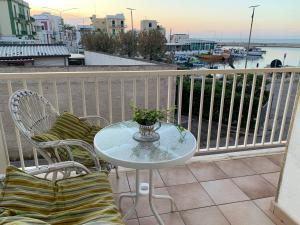 A balcony or terrace at Eva Casa Vacanza