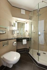 Ein Badezimmer in der Unterkunft Hotel Für Dich