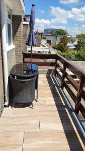 A balcony or terrace at Guesthouse Zandvoort