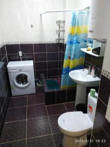 Ванная комната в Apartment in Dzhemete