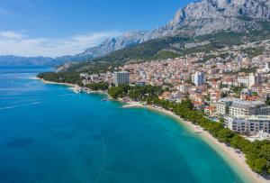 A bird's-eye view of Hotel Park Makarska