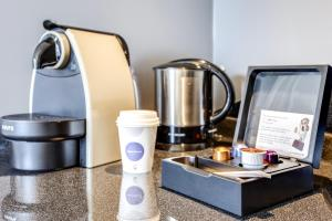 Coffee and tea making facilities at Novotel Suites Paris Velizy
