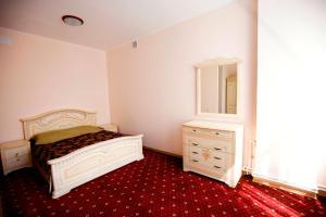 Кровать или кровати в номере VIP Hostel на Волге