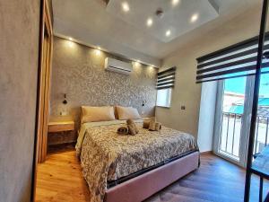 Letto o letti in una camera di Bed and Breakfast L&P
